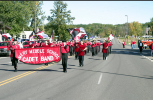 Amery marching band
