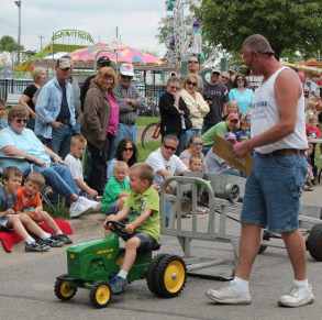 pedal tractor pull